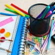Office or school supplies — Stock Photo #28966801