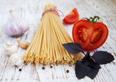 Ingredients for an Italian meal — Stockfoto