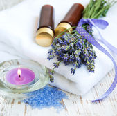 Wellness products — Stock Photo