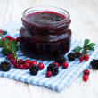 Stock Photo: Homemade jam