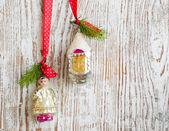 винтаж рожденственский орнамент — Стоковое фото