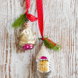 Vintage Christmas Ornament — Stock fotografie