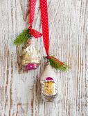 Enfeite de natal vintage — Foto Stock