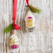 Vintage Christmas Ornament — Stockfoto