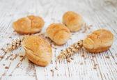 牛角面包 — 图库照片