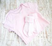 Vestiti neonato — Foto Stock