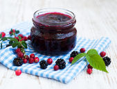 Homemade jam — Stock Photo