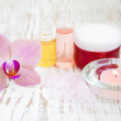 Spa set with orchids — Stock Photo #36316179