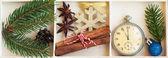 圣诞装饰品在一个盒子里 — 图库照片