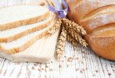 パンと小麦 — ストック写真