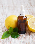 Aromatherapy lemon — Stock Photo