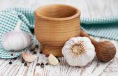 Garlic — Foto de Stock