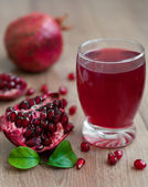 Pomegranate juice — Stock Photo