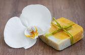 Natural Herbal Soap — Stock Photo