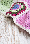 Crochet Blankets — Stock Photo