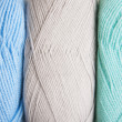 Knitting yarn skeins — Stock Photo
