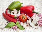 Grönsaker sammansättning — Stockfoto