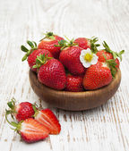 Fresh sweet ripe strawberries — Stock Photo