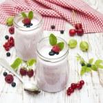 Постер, плакат: Fruit yogurt