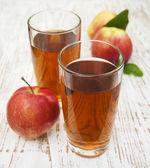 Elma suyu — Stok fotoğraf