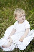 Pretty little baby — Stock Photo