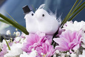 Wedding decoration bouquet — Stock Photo