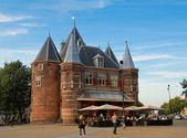 De Waag, medieval building in Amsterdam — Stock Photo