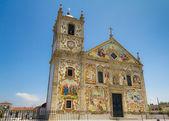 Portuguese church Matriz de Válega — Stock Photo