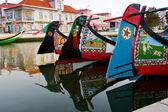 деталь традиционного moliceiro лодок в авейру, португалия — Стоковое фото