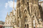 Architecture detail of the Sagrada Familia cathedral, designed b — Stock Photo