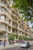 The Casa Mila, better known as La Pedrera, in Barcelona, Spain — Stock Photo