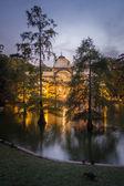 Crystal palace in Buen Retiro park, Madrid — Stock Photo