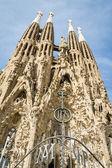 De sagrada familia kathedraal in barcelona, spanje — Stockfoto
