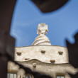 Detail of Casa Mila, La Pedrera, in Barcelona — Stock Photo