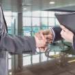 Business handshake for a closing deal — Foto de Stock