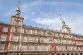 House bakery in Plaza Mayor of Madrid, Spain — Stockfoto