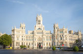 シベレス広場、マドリードでの通信の宮殿 — ストック写真