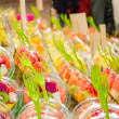 Packed fruits in LBoquerimarket, Barcelona — Stock Photo #40179899