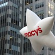 Macys` balloon at Thanksgiving Day parade in New York — 图库照片