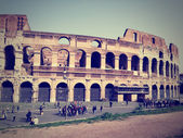 Ancient Roman architecture - Colosseum, Rome — Stock Photo