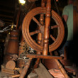 Stock Photo: Old spinning wheel