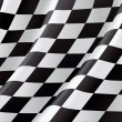 Checkered Flag, vector background — Stock Vector