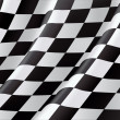 Checkered Flag, vector background — Imagen vectorial