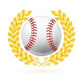бейсбол эмблема, вектор — Cтоковый вектор