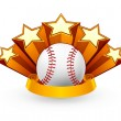 Royalty-Free Stock Vector Image: Baseball Emblem, vector