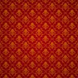 Red Seamless wallpaper pattern, vector — Stock Vector