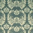Seamless wallpaper pattern, vector — Stok Vektör
