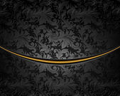Black Luxury Background, vector — Stock Vector