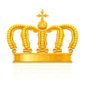 Crown, vector — Stock Vector