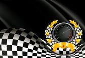 Racing Background, vector — Stock Vector
